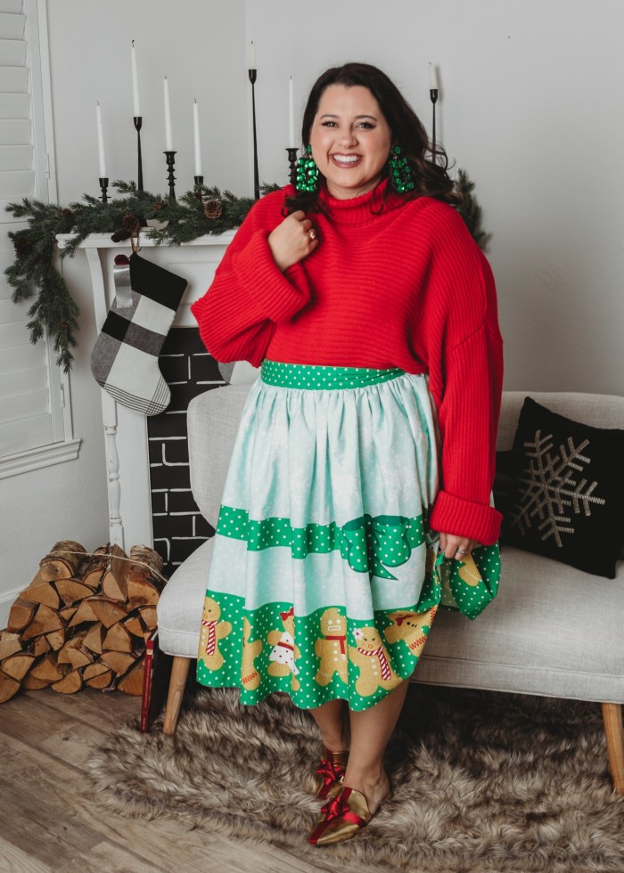 Gingerbread Skirt
