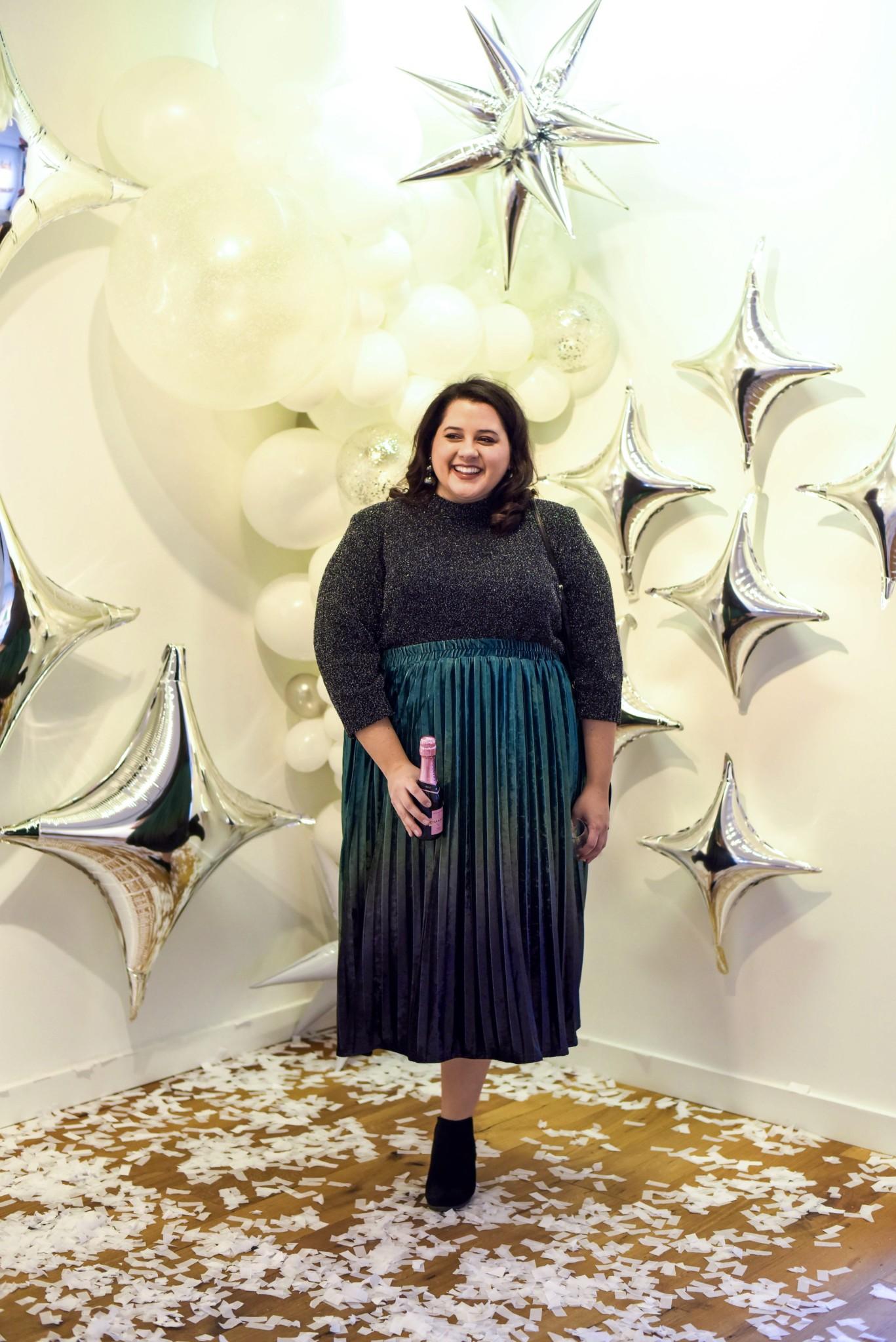 Modcloth velvet Skirt