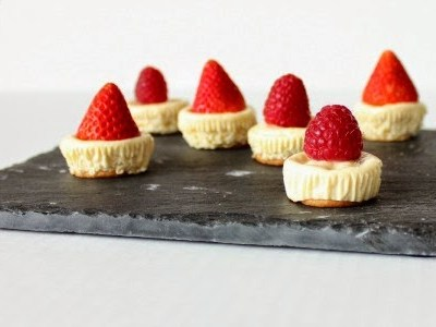 Saturday's Something Good: Mini Cheesecakes