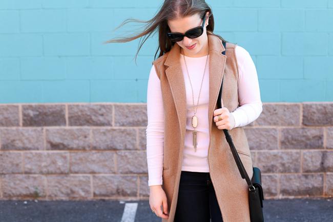 The Camel Blazer Vest | Something Good, blazer vest