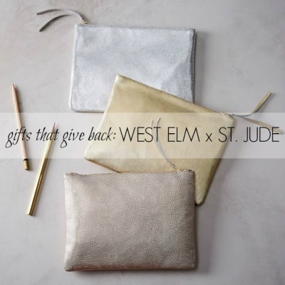 Gifts that Give Back: West Elm x St. Jude