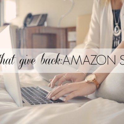 Gifts that Give Back: Amazon Smile