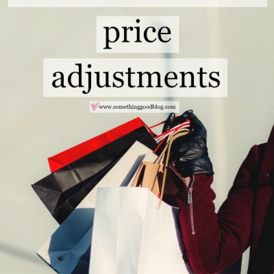 Budget Better: Price Adjustments