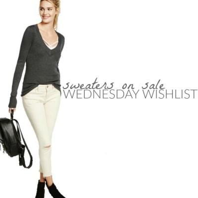 Wednesday Wishlist: Sweaters on Sale
