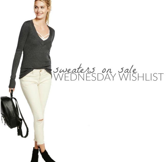 Wednesday Wishlist: Sweaters on Sale | Something Good