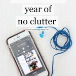 Sunday Book Club: Year of No Clutter