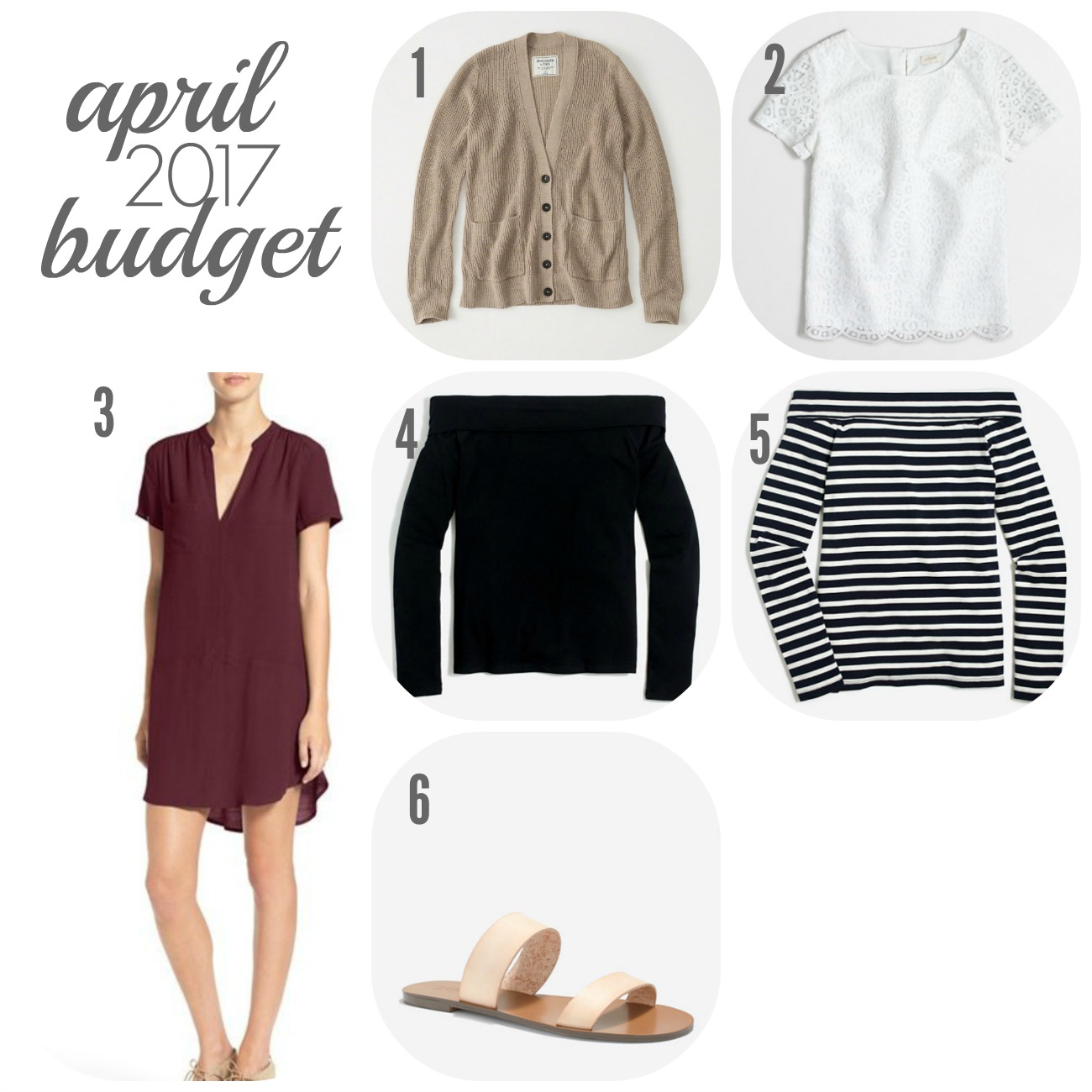 The April 2017 Budget | Something Good