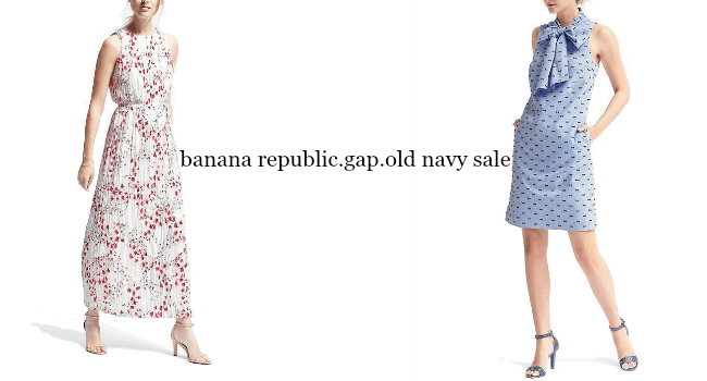 The Banana Republic, Gap, and Old Navy Sale | Something Good