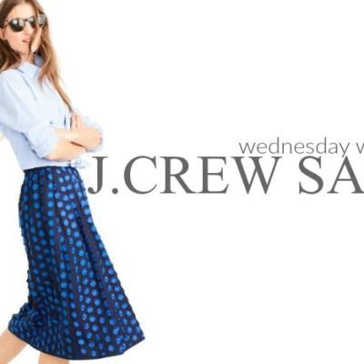 Wednesday Wishlist: J.Crew Sale