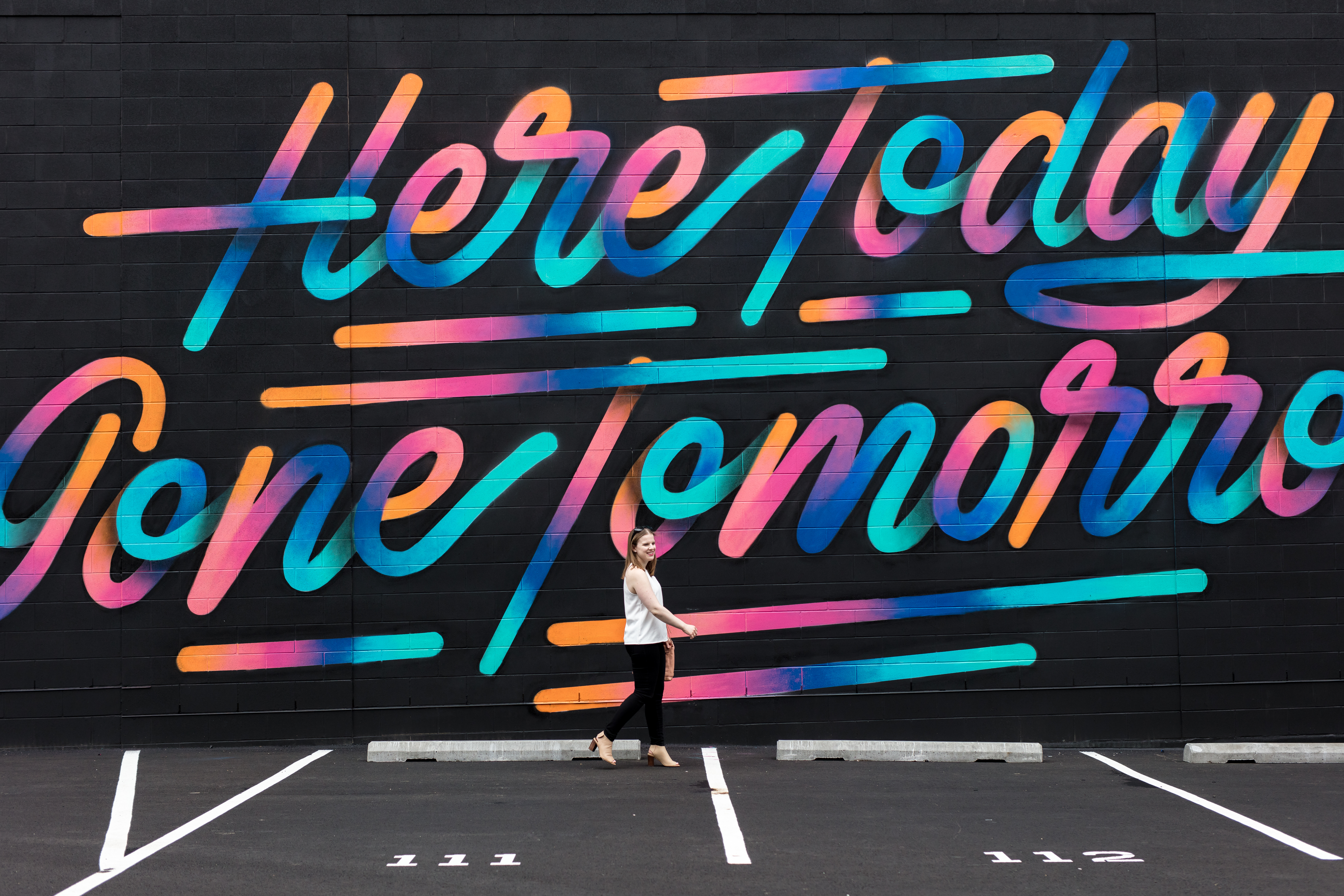 The High Neck Tank | Something Good, @danaerinw , mural, inspiration, quotes, walking