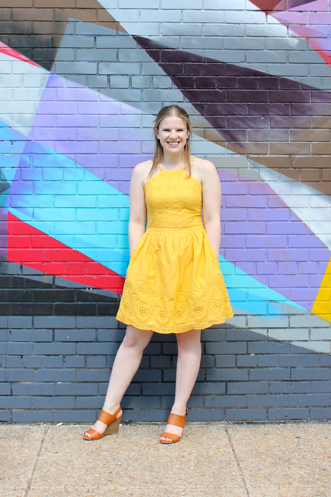 The Dress that Made Me Start Loving Abercrombie and Fitch   Something Good, @danaerinw , yellow halter dress
