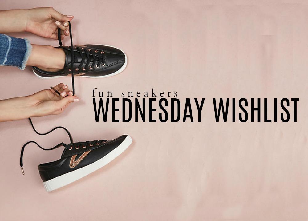 Wednesday Wishlist: Fun Sneakers | Something Good, @danaerinw