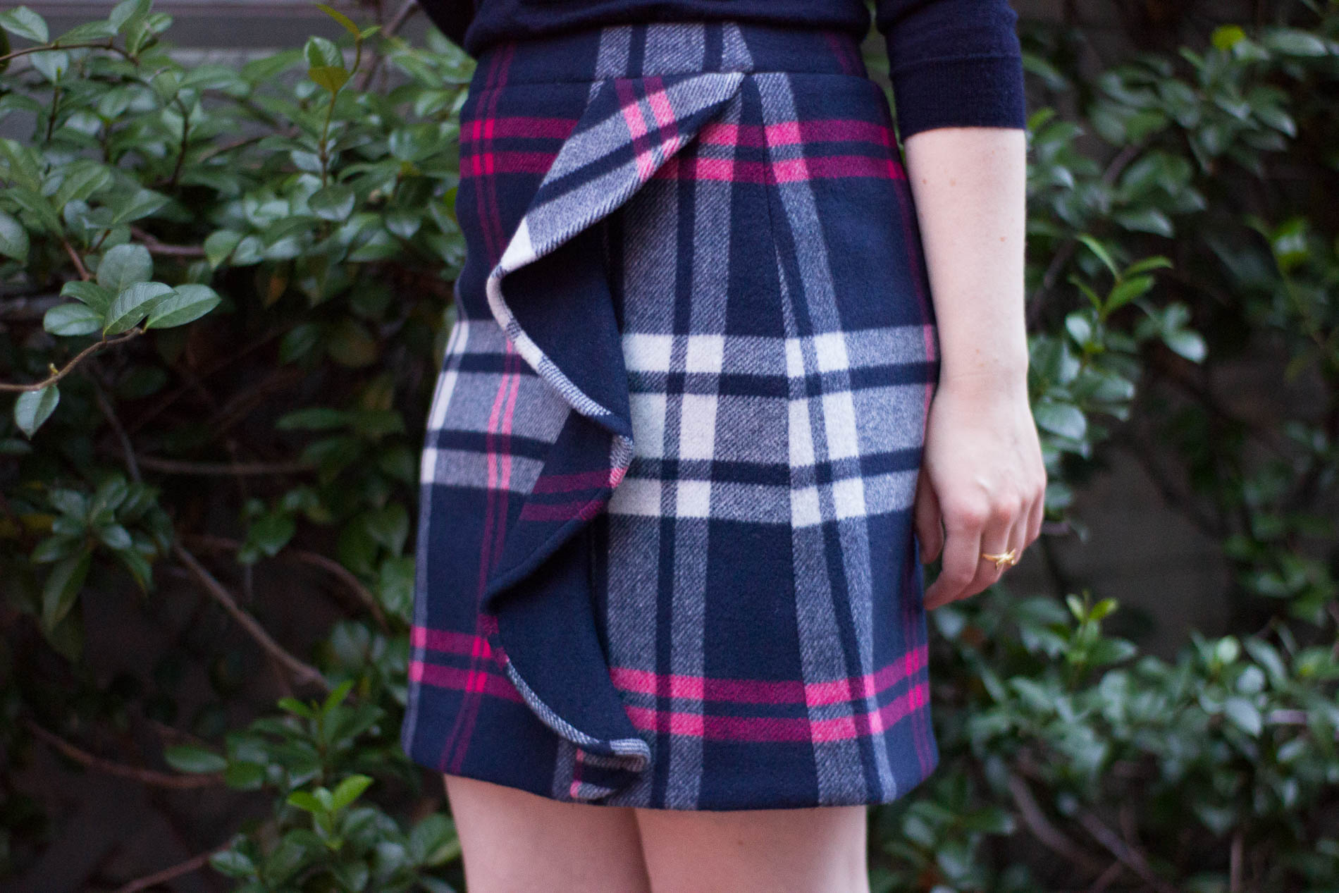 The 5 Days to Holiday Savings Challenge | Something Good, @danaerinw , wool skirt