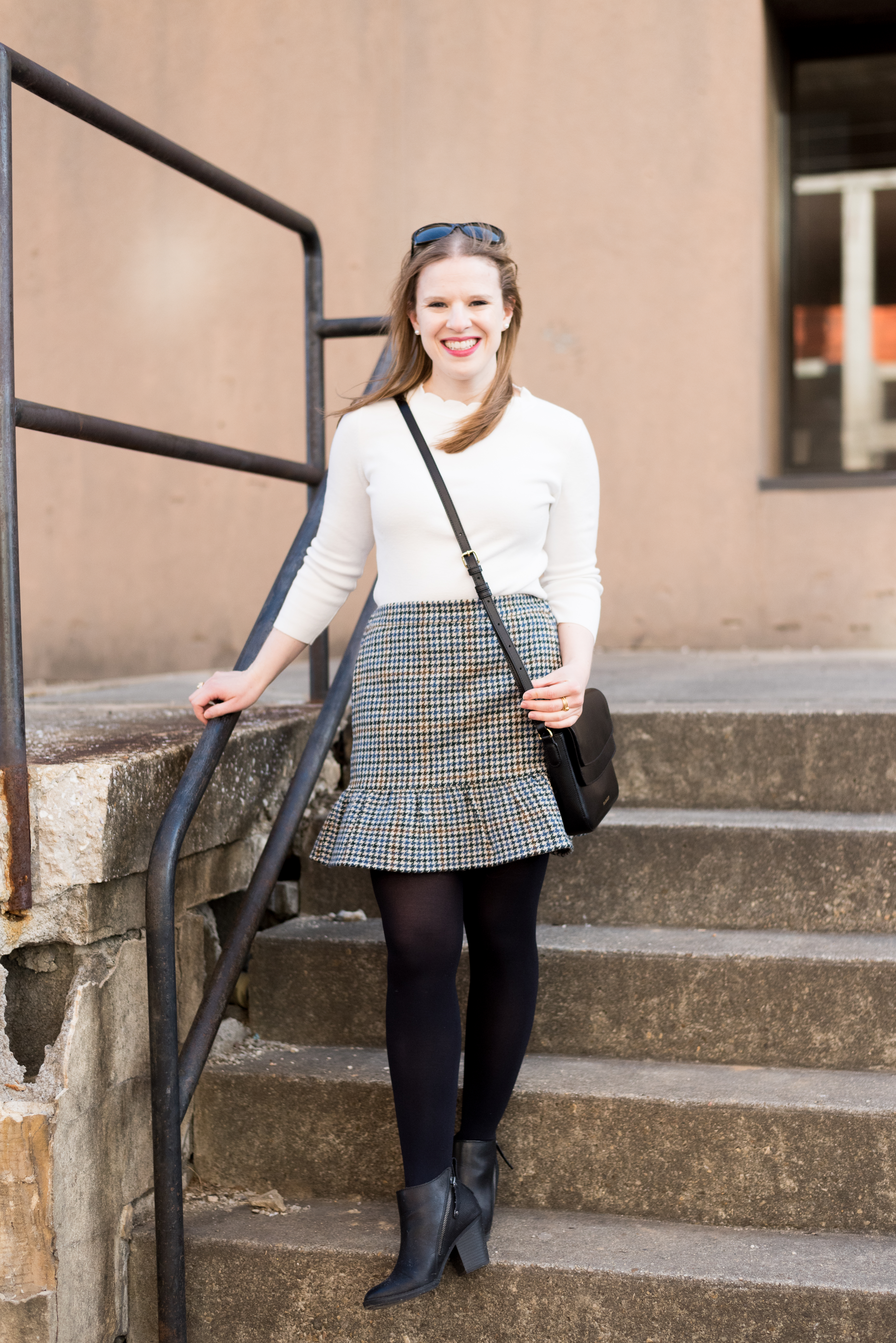 The Perfect Work Outfit for Mild Winter Weather   Something Good, @danaerinw