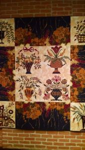 Cynthia Collier applique quilt