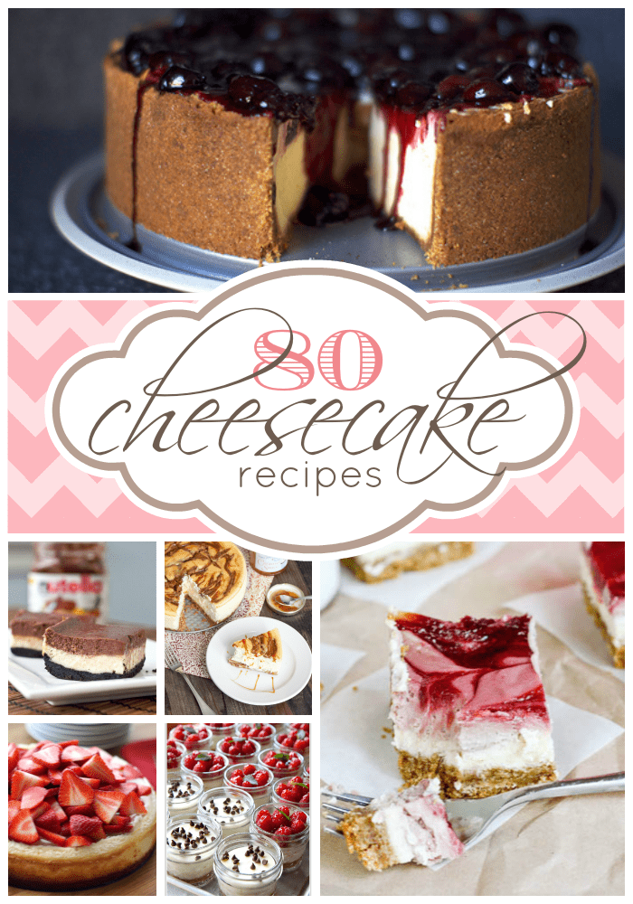 80 Cheesecake Recipes | www.somethingswanky.com