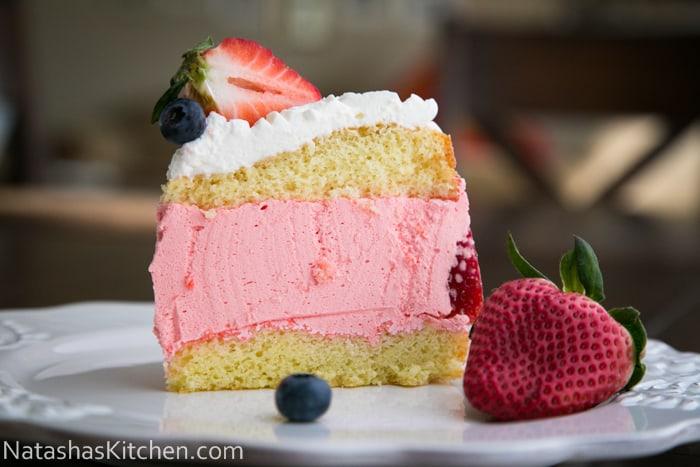 Strawberry Jello Cake Recipe With Pudding: 75 Jell-O And Pudding Desserts