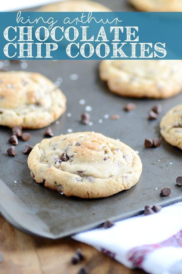 King Arthur Flour Chocolate Chip Cookies - Something Swanky