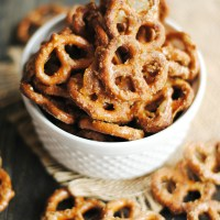 Maple Glazed Pretzels