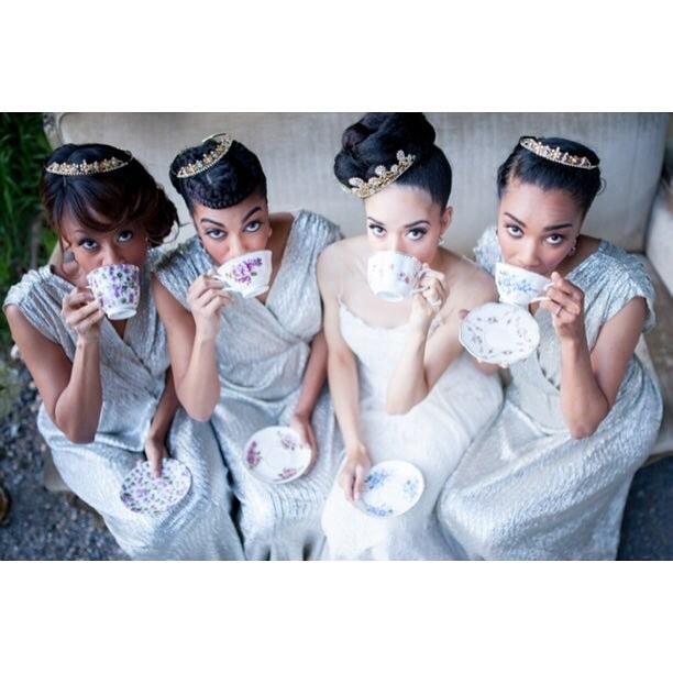 Tea time?  Don't mind if we do!Planned by @jayneheirweddings at @malmaisondc. ? by @natarsha_wright#vintagerentals #vintage #weddings #eventstyling #weddingflorist #weddinginspo  #weddings #dcwedding #vintageweddings #marylandwedding #floraldesign  #weddinginspiration #eventdecor #acreativedc #bride #bridalportrait #teaparty