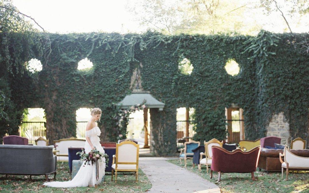 Local Artisans Dusty Gemstones Wedding Editorial || Goodstone Inn, Middleburg VA