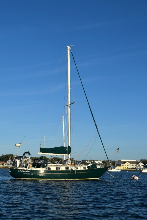 Meander moored at St Augustine, Florida/