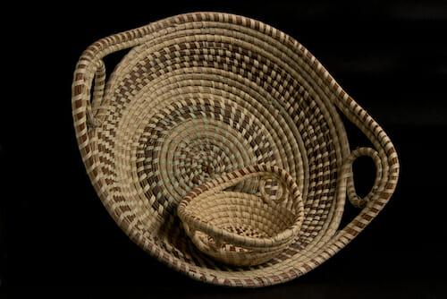 Sweet grass baskets.