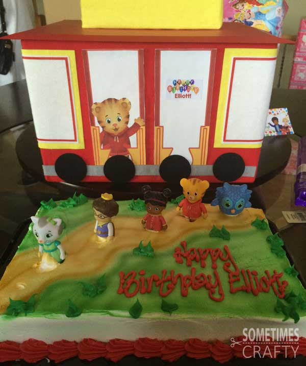 Daniel Tiger Birthday Party With Free Printables Sometimes Crafty