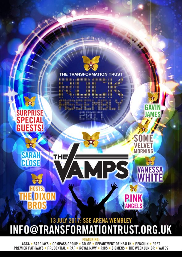 Rock Assembly 2017 Poster (The Vamps)