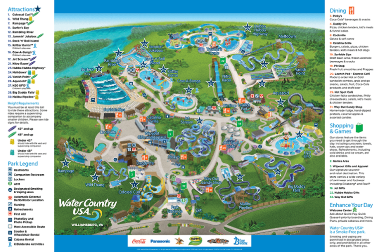 Is Water Country Usa Connected To Busch Gardens