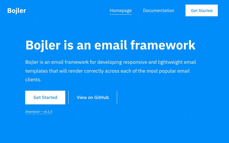 Bojler Email Framework