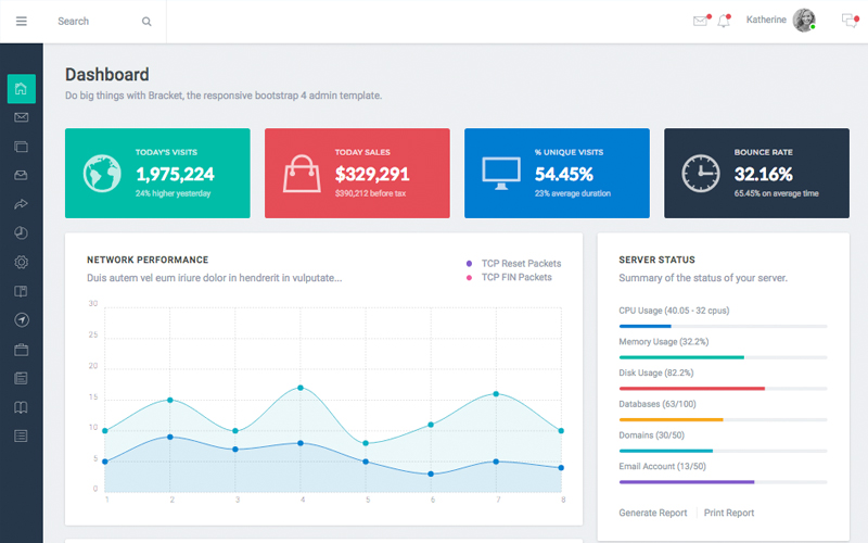 Bracket Admin Dashboard