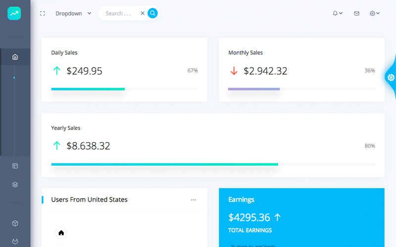 Datta Able Bootstrap 4 Admin Template