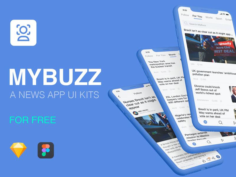 Mybuzz News Ui Kit
