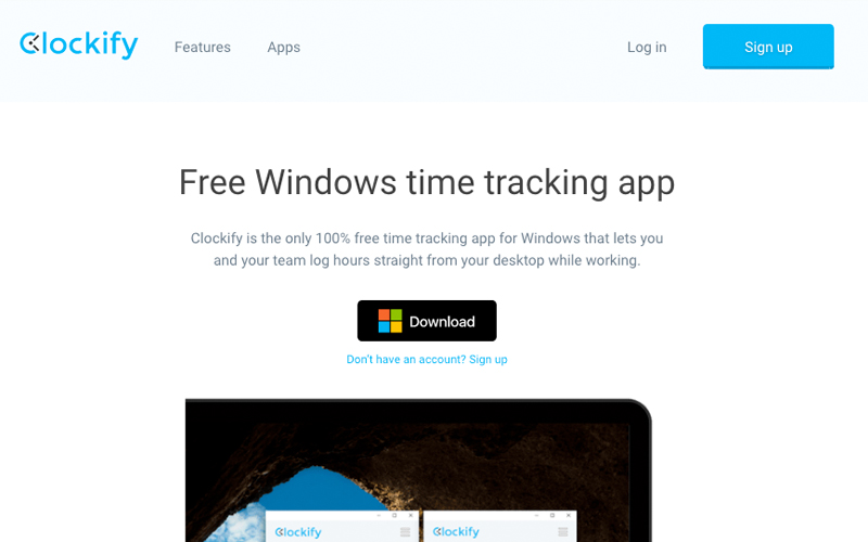 Clockify Windows Time Tracking App