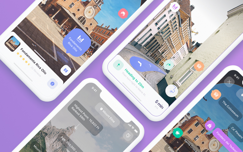 Eggplore – Ar Maps & Navigation Ui Kit