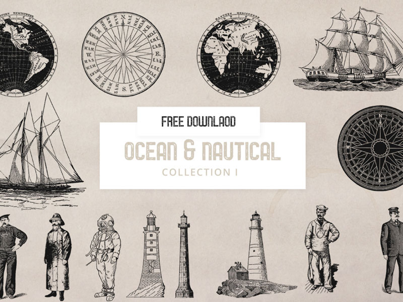 Nautical Sea Illustrations