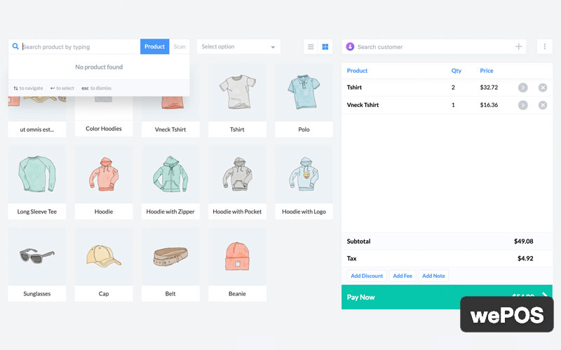 Wepos Point Of Sale For Woocommerce