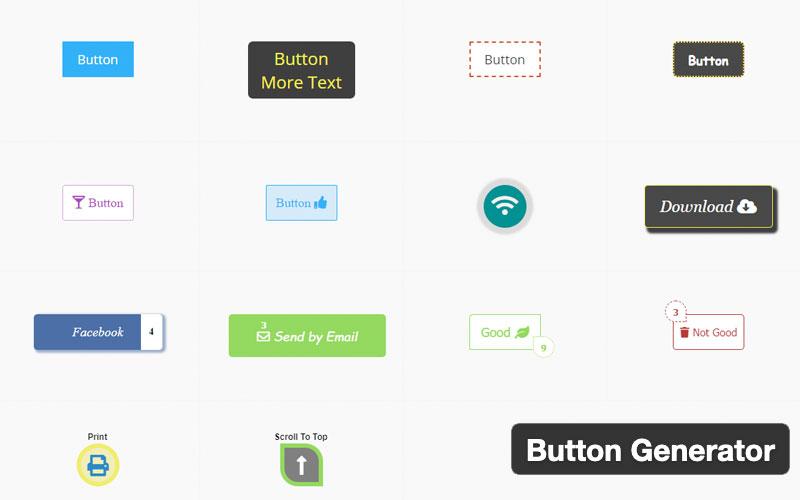 Button Generator Is A WordPress Button Builder Plugin