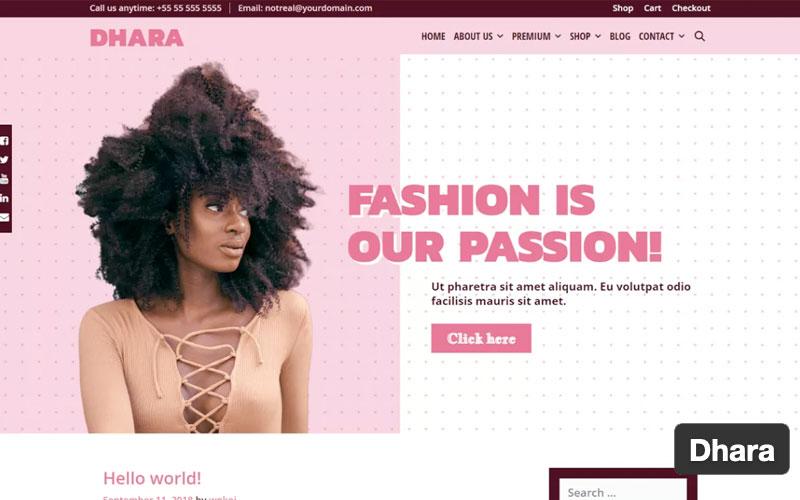 Dhara WordPress Theme