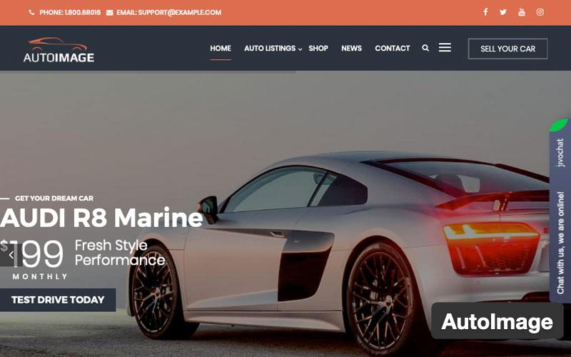 Auto Image WordPress Theme