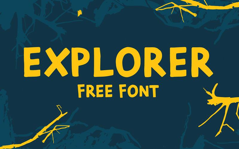 Explorer Font