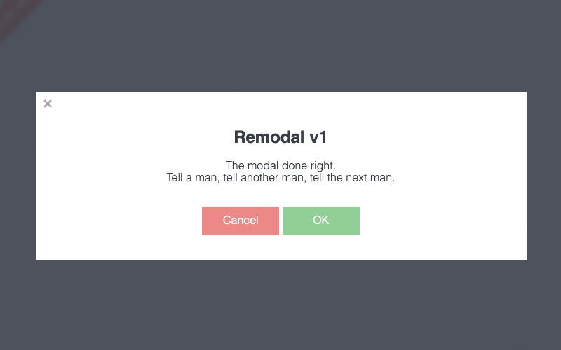 Remodal