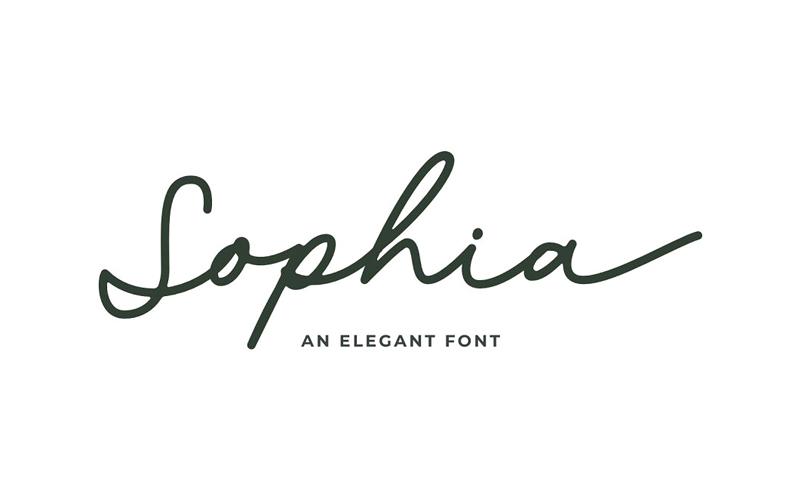 Sophia Script