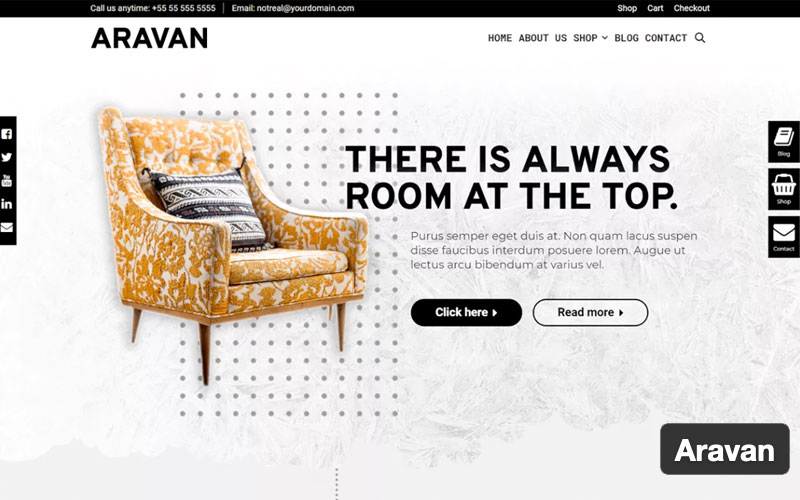 Aravan Theme For Woocommerce