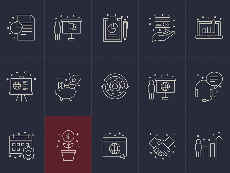 Business Vector Icons