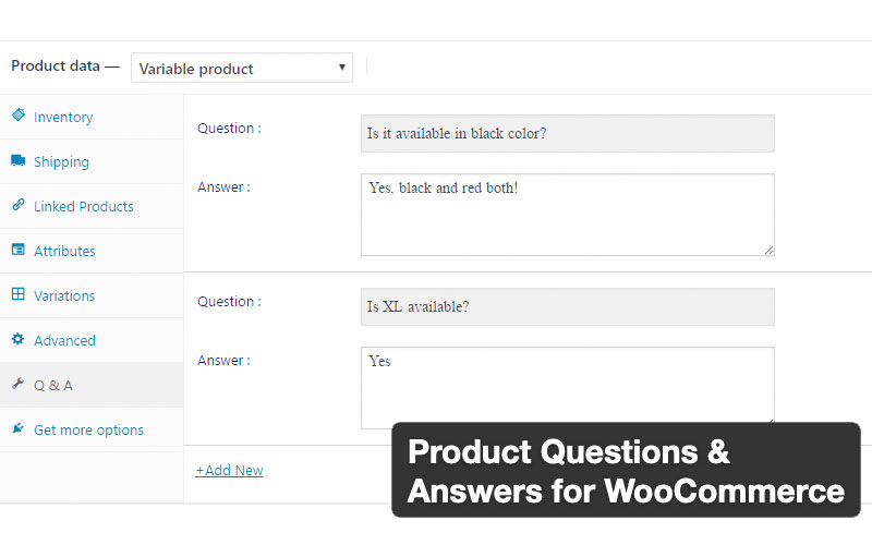 Product Questions And Answers For Woocommerce