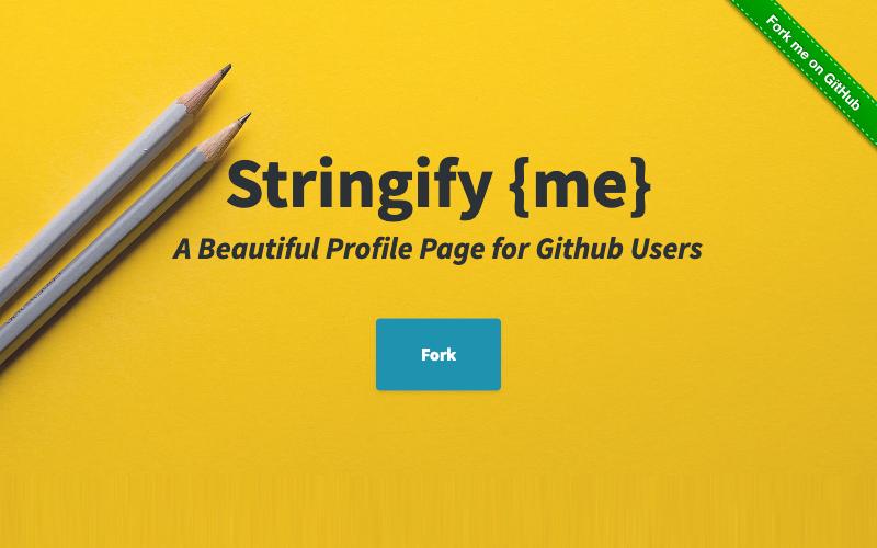 Stringify Me