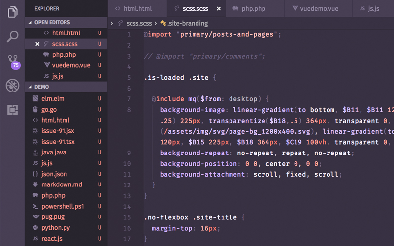 Base2tone Themes For Vs Code