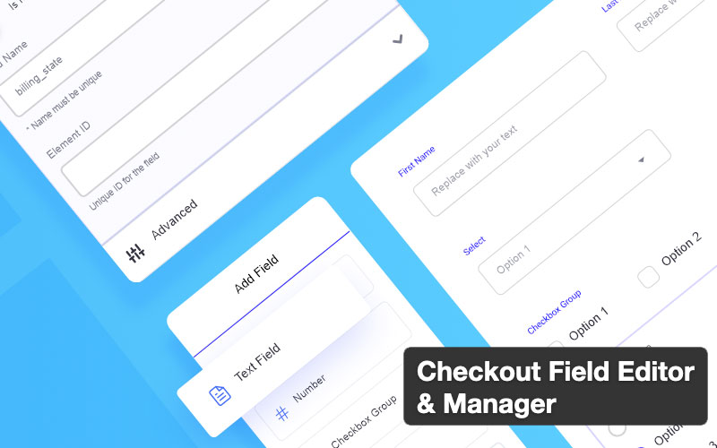 Checkout Field Editor And Manager For Woocommerce